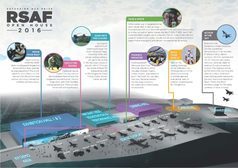 Infographic RSAF Open house 2016