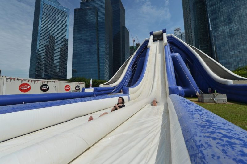 Waterslide DBS Marina Regatta