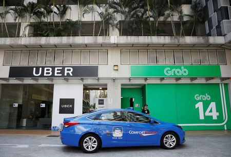 Uber sold to Grab Singapore