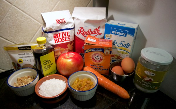 Morning Glory Muffins ingredients | thelittleredspoon.com