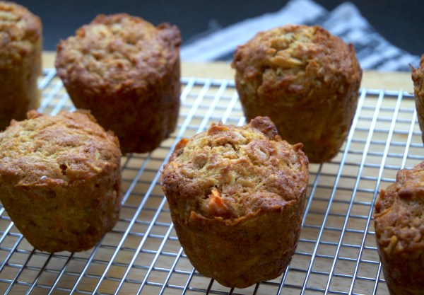 Morning Glory Muffins cooling   thelittleredspoon.com