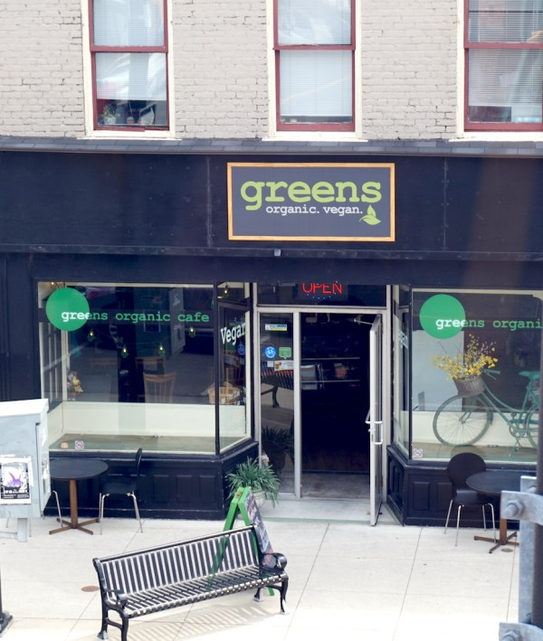 Greens Organic Cafe Outside | thelittleredspoon.com