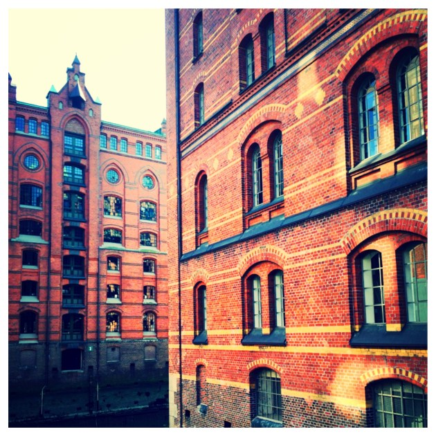 WAREHOUSES IN THE SPEICHERSTADT
