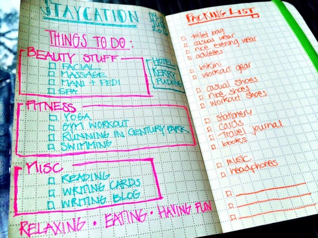 TO-DO AND PACKING LIST