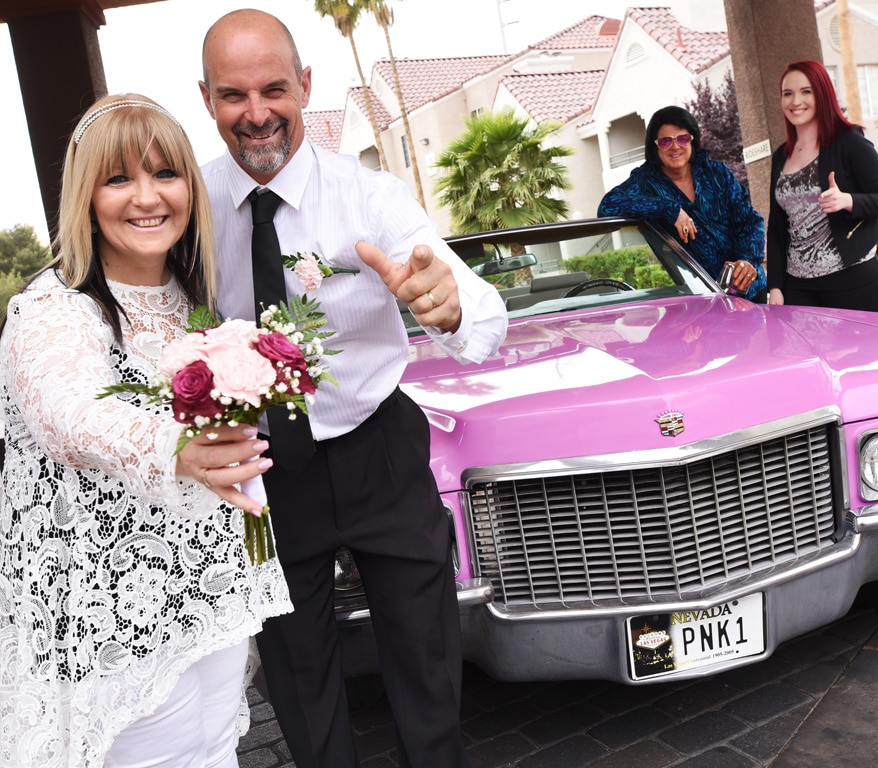 Ultimate Elvis Wedding Experience with Cadillac