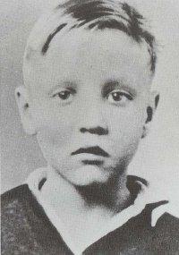 Elvis Age 4 1939 Vintage Photo