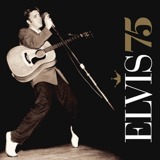 Elvis 75 Album Cover