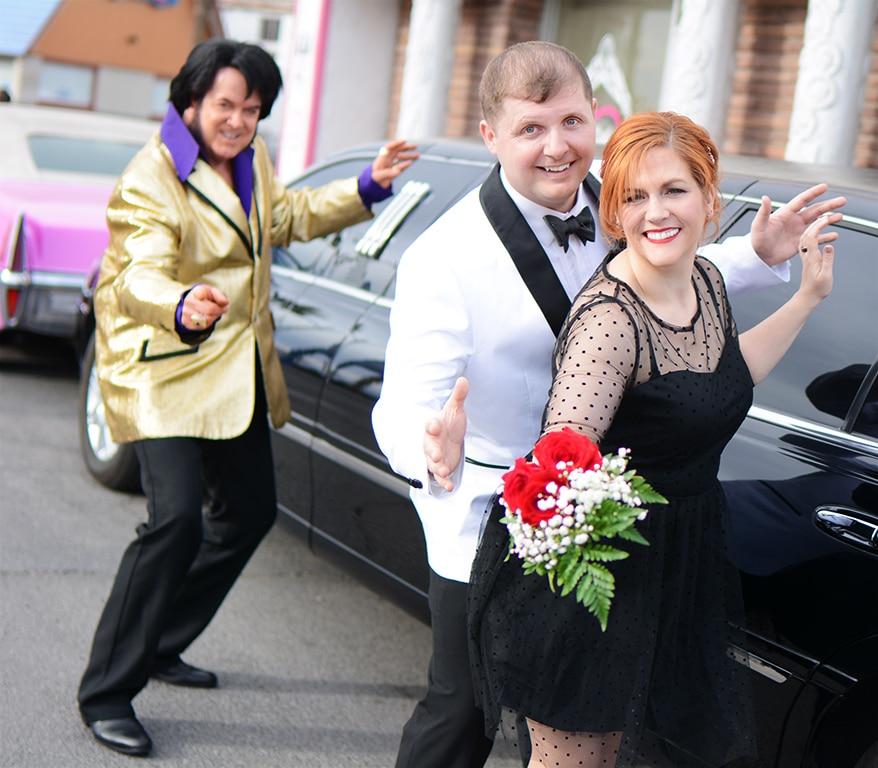 Limo Elvis Wedding Chapel in Las Vegas