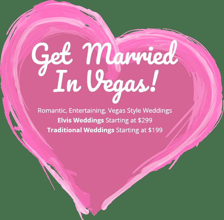 Get Married In Vegas Heart
