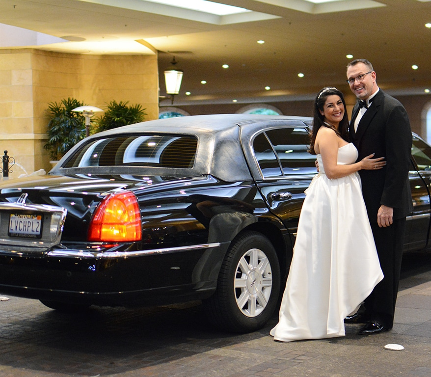 Love Forever Limo at Las Vegas Wedding Chapel