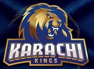 Karachi kings team logo in psl 2019 represent the karachi team and city of Karachi