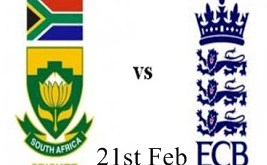 England Vs South Africa Live 2nd TG20 21th Feb 2016