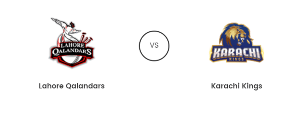 Lahore Qalandars Vs Karachi Kings Live T20 16th Feb 2019 Prediction