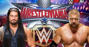 WWE Roman Raign Vs Triple H Live Fight Date And Time On Ten Sports