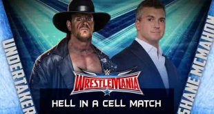 WWE Shane McMahon Vs Undertaker Live Ten Sports Time, Date In India