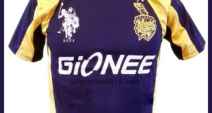 Kolkata Knight Riders KKR Team For IPL 2016 Jersey, Fixtures, Squad