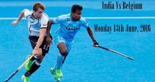 India Vs Belgium Live Hockey Match Champions Trophy 2016 Results