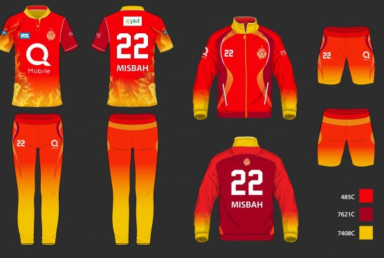 Islamabad United Team 2019 Shirt Kit