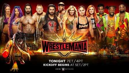 WWE Wrestlemania 35 Matches Results Winners List