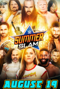 WWE Summerslam 2018 Date And Time In India, Poster Pic