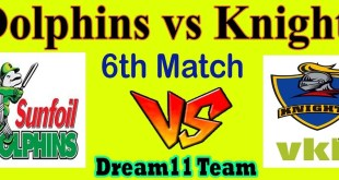 CSA Dolphins Vs Knights Live Score 2019 Results Prediction