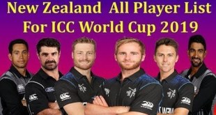 New Zealand ICC World Cup 2019 Schedule, Date, Time, Fixtures