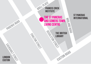 The St Pancras and Somers Town Living Centre Map Location