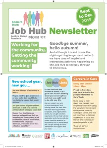 Job Hub Newsletter Sept-Dec 2019
