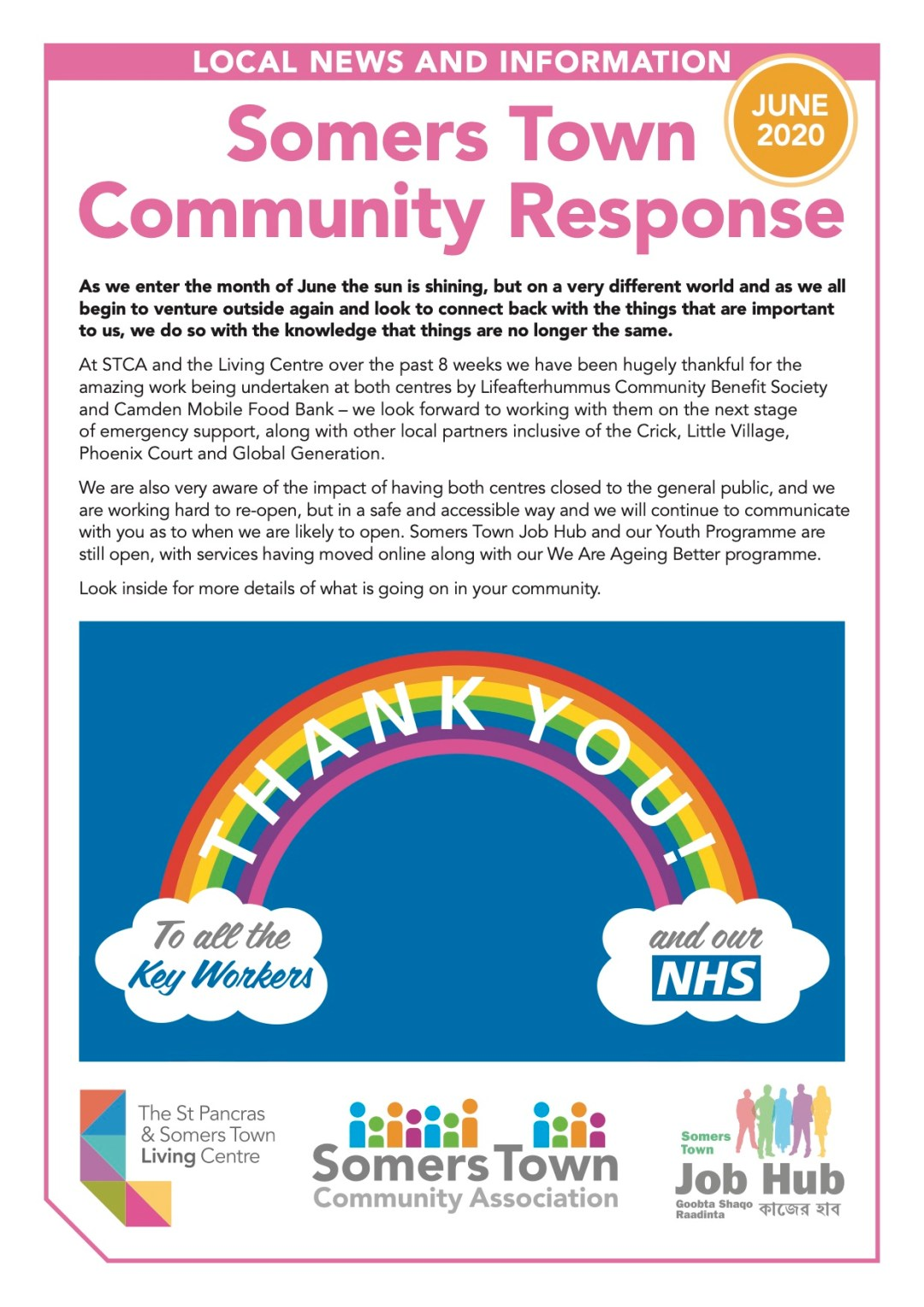 Somers Town Community Response June 2020