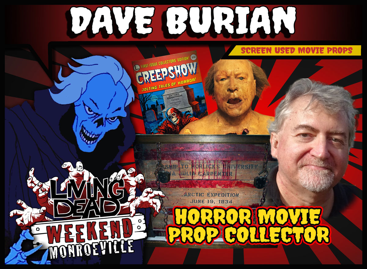 dbba6e53 Living Dead Weekend welcomes back archivist and horror prop collector Dave  Burian to the Monroeville Mall this June 14-16 2019