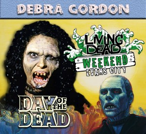 Debra Gordon Day of the Dead October Living Dead Weekend George Romero Zombie Festival Event Weekend of the Dead