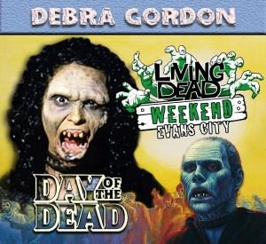 Debra Gordon Day of the Dead October Living Dead Weekend George Romero Zombie Festival Event Weekend of the Dead