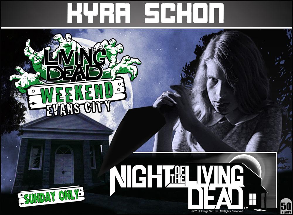 Kyra Schon Night of the Living Dead Zombie Kid Karen Cooper George Romero