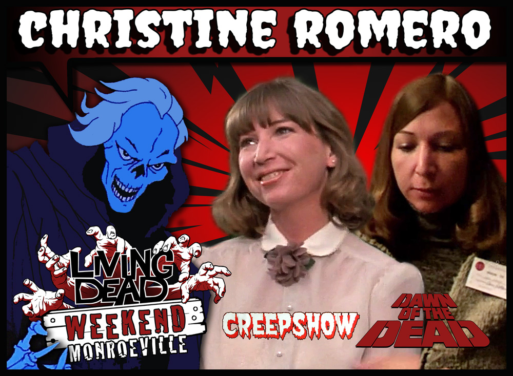 Christine Romero Dawn of the Dead Creepshow Living Dead Weekend Monroeville Mall Pittsburgh