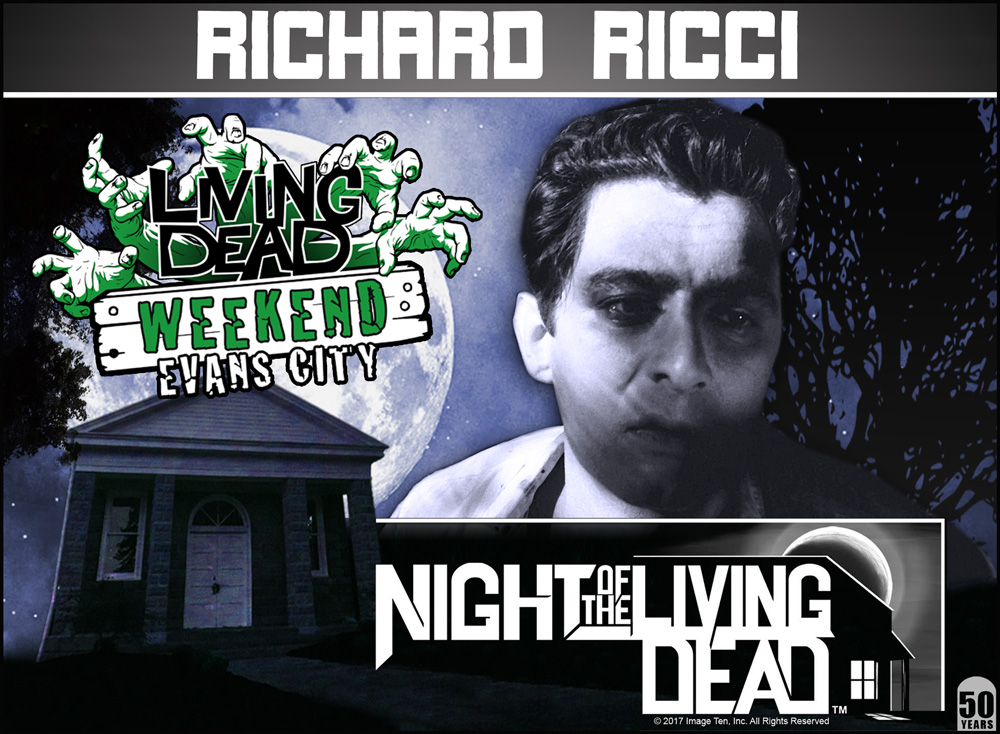 George A Romero's Night of the Living Dead 50th Anniversary Guest at the Living Dead Weekend in Evans City October 5-7 2018