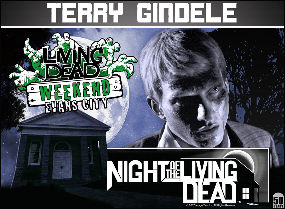 Terry Gindele Night Of The Living Dead 50th Anniversary Living Dead Weekend October 2018