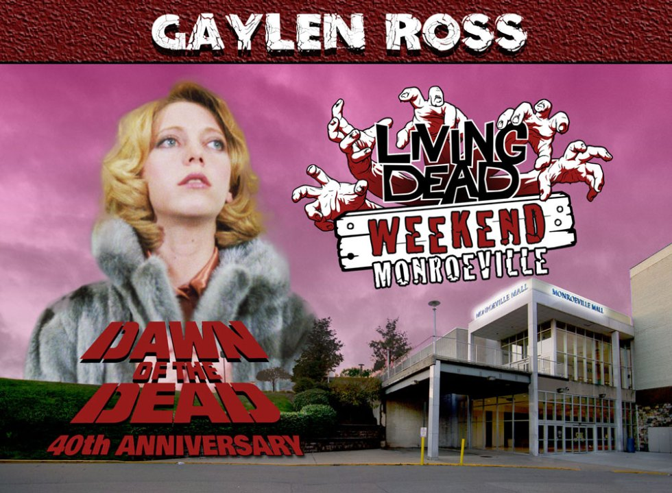 Living Dead Weekend Monroeville Mall June 8 10 2018 Gaylen Ross George Romero Dawn of the Dead Zombie web