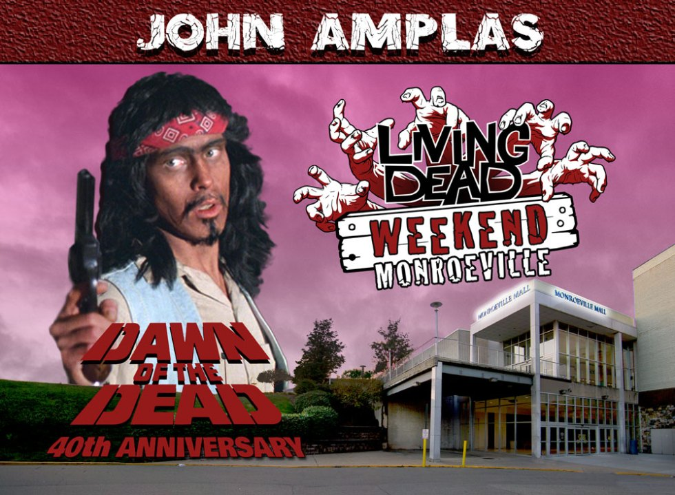 Living Dead Weekend Monroeville Mall June 8-10 2018 John Amplas George Romero Dawn of the Dead Zombie Martin Creepshow