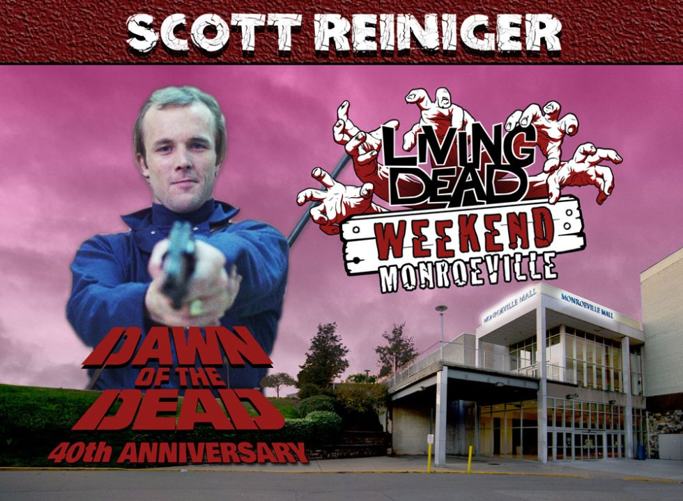 Living Dead Weekend Monroeville Mall June 8-10 2018 Scott Reiniger George Romero Dawn of the Dead Zombie