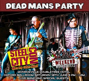 Living Dead Weekend & Steel City Con's Horror After Party DEAD MAN'S PARTY.