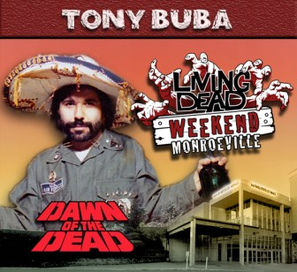 Tony Buba guest appearance at The Living Dead Weekend Zombie Event in the Dawn of the Dead Monroeville Mall