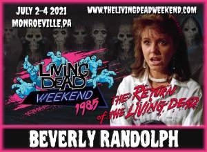 BEVERLY RANDOLPH Tina Return of the Living Dead