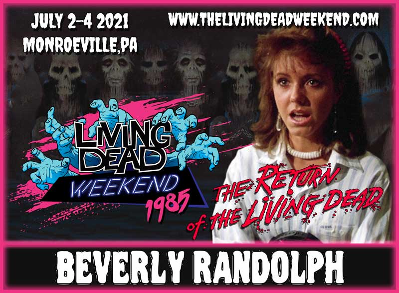 BEVERLY RANDOLPH Tina Return of the Living Dead