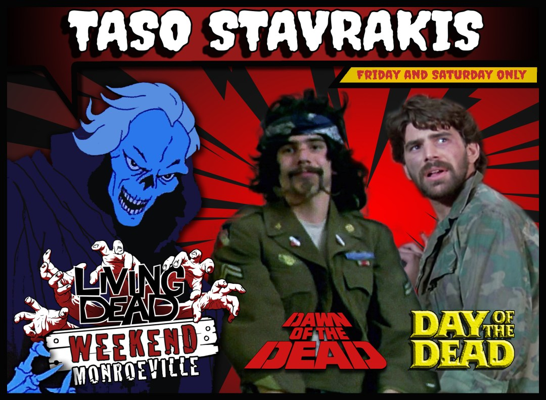taso stavrakis Creepshow, Dawn of the Dead, Day of the Dead soundtrack Tales From The Darkside Director