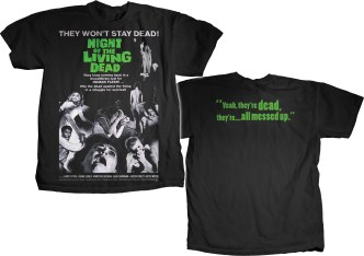Night of the Living Dead Poster Art T-Shirt
