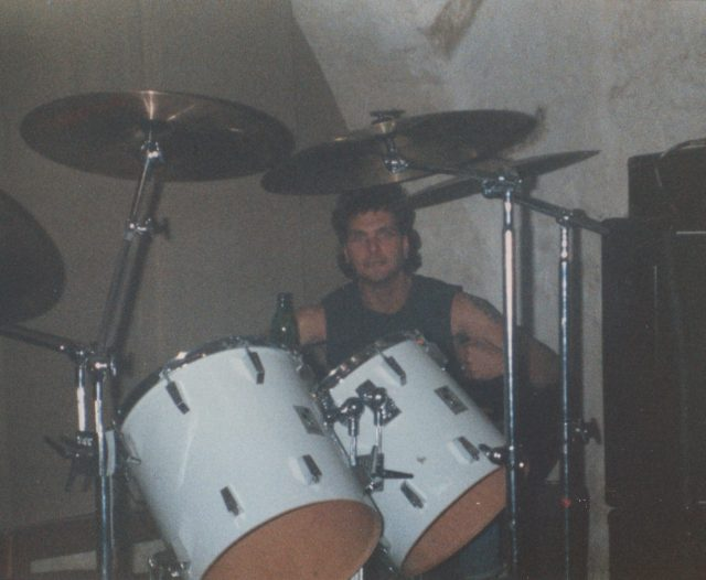 TED ON DRUMS