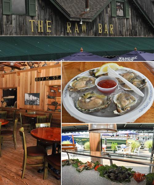 Raw Bar seafood restaurant Cape May NJ