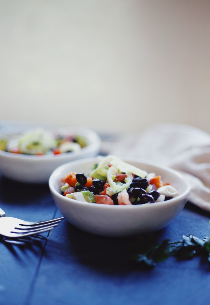Vegan Mexican salad recipe