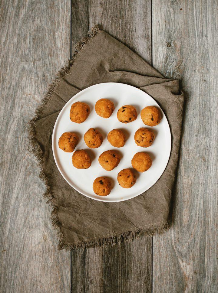 vegan chickpea cookie dough