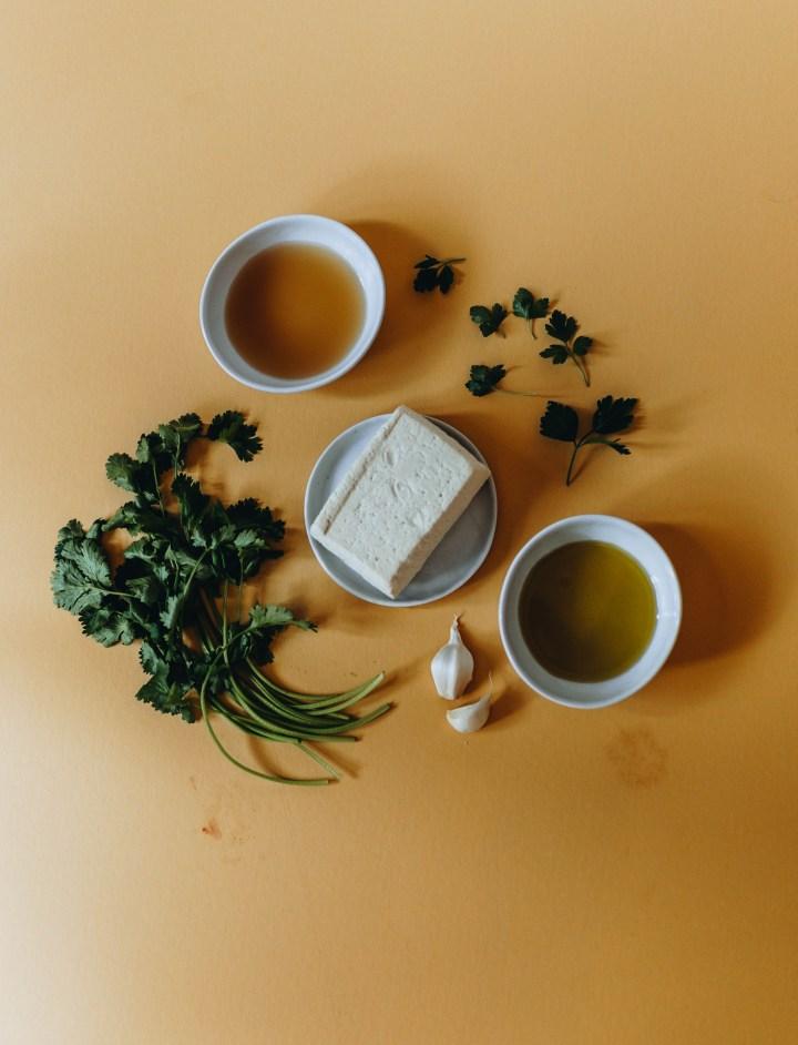 herbed tofu marinade